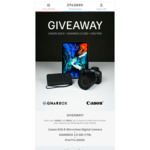 Win an Apple iPad Pro Tablet with Canon EOS R Camera from Gnarbox and Canon