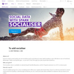 Free 10GB Socialiser Data for Spark Pay Monthly Customers