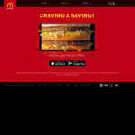 Cheeseburger Small Combo + Cheeseburger $6 via App @ McDonald's