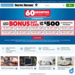 $5 off Orders $25 or More @ Harvey Norman