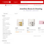 Hagerty Jewellery Cleaner and Cleaning Cloths - All $3.97 on Clearance @ The Warehouse