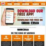 Burger King App - 350 Starting Crowns (After $5 Spend) - Claim and Redeem for Freebies