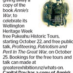 Win a copy of Annie's War from The Dominion Post