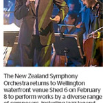 Win 1 of 2 Double Passes to The New Zealand Symphony Orchestra Rebirth from The Dominion Post (Wellington)