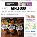 Win 1 of 5 Frooze Balls Gift Baskets from Mindfood
