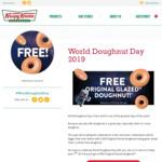 Free Original Glazed Doughnut @ Krispy Kreme (Friday 7/6)