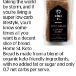 Win 1 of 3 Loaves of Home St. Keto Bread from The Dominion Post
