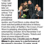 Win a Double Pass to Frost/ Nixon from The Dominion Post