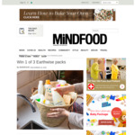 Win 1 of 3 Earthwise Packs from Mindfood