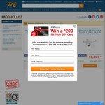 DJI 3 Standard ($769); DJI 3 Pro ($1599); DJI 4 ($1899) @ PB Tech