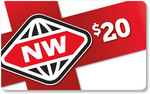 New World $20 Gift Card for FlyBuys 115 points