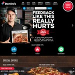 $2 off Any Order @ Domino's [$10 Minimum Spend]