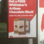 Free Whittakers Artisan Chocolate with Clubcard Signup @ New World