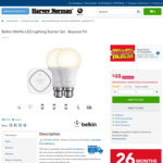 Belkin WEMO Starter Kit - $48 @ Harvey Norman