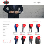 $150 Free Clothing with Any Suit from $399 @ Scriber and Markz