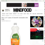 Win 1 of 7 Cases of Seventh Generation Dish Soap from Mindfood