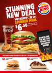 BK Offers (eg Creamy Mayo Cheeseburger, Small Fries + Drink $4) @ Burger King