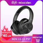 Mixcder E9 / E7 Noise Cancelling Bluetooth Headphones/Headset ~NZ $64 (US $40.24) / ~NZ $61 (US $38.39) @ Mixcder AliExpress