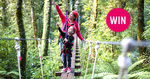 Win a Family Pass for an Original Canopy Tour with Canopy Tours (Worth $499) from Tots to Teens