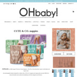 Win 8 Bulk Packs of Cute & Co Nappies or Nappy Pants from Oh Baby!