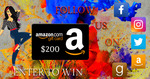 Book Throne Social Media Giveaway- Win $200 Amazon Gift Card