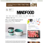 Win 1 of 2 The Collective Plant-Based Yoghurt Packs from Mindfood