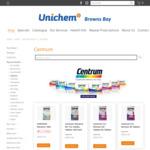 Centrum Multi Vitamin from $9.99 + Delivery / Click & Collect @ Unichem, Browns Bay