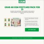 $1 Delivered OneSquareMeal Postcard Pack (4 Sample Bites - Equivalent Value $5)