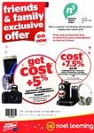 Cost + GST + 5 to 7.5% @ Noel Leeming