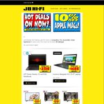 10% off Apple Macs + More @ JB Hifi