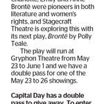 Win a Double Pass to Brontë from The Dominion Post (Wellington)