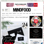 Win a Farro $250 Gift Card from Mindfood