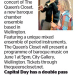 Win a Double Pass to The Queen's Closet from The Dominion Post (Wellington)