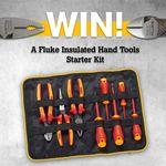 Win 1 of 3 Insulated Hand Tools Starter Kits from Fluke Australia