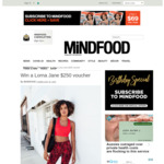 Win a $250 Lorna Jane Voucher from Mindfood