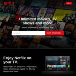 Netflix ~60%+ off via Argentina VPN Hack (Valid for Both New & Existing Subscribers)