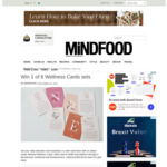 Win 1 of 8 Wellness Cards Sets from Mindfood