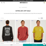 Extra 20% off Sale Items @ North Beach