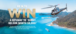 Win a Getaway to Sunny Nelson Worth $8000 from Uniquely Nelson