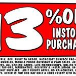 13% off All in-Store Purchases @ JB Hi-Fi [Today Only] - Nutri Ninja $40.80, ChromeCast $60 + More