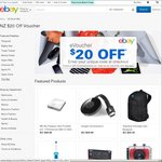 eBay $20 Voucher Minimum Spend $30
