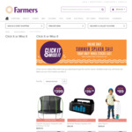 Farmers Online and Today Only Sale - Comfee 268L Fridge Freezer $449 (Was $849) & 12 Foot Enclosed Trampoline $399 (Was $899)