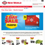 Two Day Sale - North Island @ New World