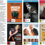 Win American Animal and The Girl in the Spider's Web, or DVD of Vermilion, You Were Never Really Here + More @ The Dominion Post