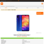 Xiaomi Redmi Note 7 $218.99 @ Mi Store (in-Store Only)