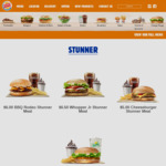 BK Healthy Stunner Deal (Chicken Salad) $5 @ Burger King