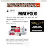 Win a Dr. Lewinn's Skincare Gift Set (Worth $338) from Mindfood