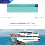 10% off Iconic Hole in Rock Cruise (Northland) @ Dolphin Cruise