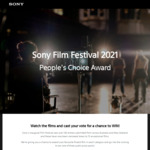 Win 1 of 3 Sony WH-1000XM4 Headphones by Watching / Voting Sony Short Film Festival