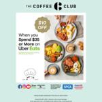 $10 off $35 Minimum Spend @ The Coffee Club via Uber Eats (Auckland, Hamilton)
